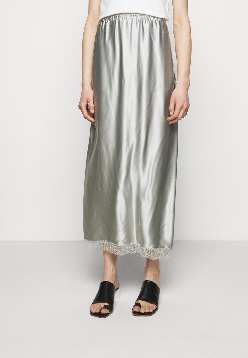 MM6 Maison Margiela - A-line skirt - light grey