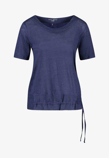 1/2 ARM  - Print T-shirt - azur
