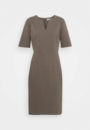 ZELLA DRESS - Shift dress - sandy grey