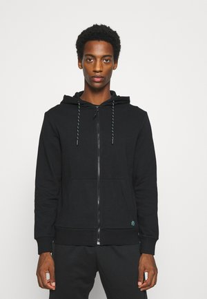 BASICA ABIERTA - veste en sweat zippée - black