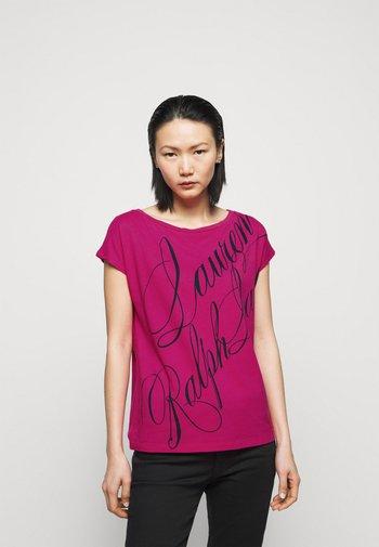 UPTOWN - Triko spotiskem - nouveau bright pink