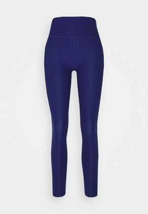 STUDIO YOGINI LUXE HIGH WAIST - Leggings - elektro blue heather