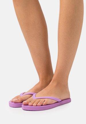 THE RUBI 2 PACK  - Pool shoes - lilac/black