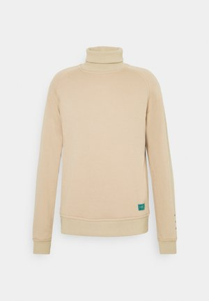 SOFT TOUCH HIGH NECK - Sweatshirt - mushroom brown