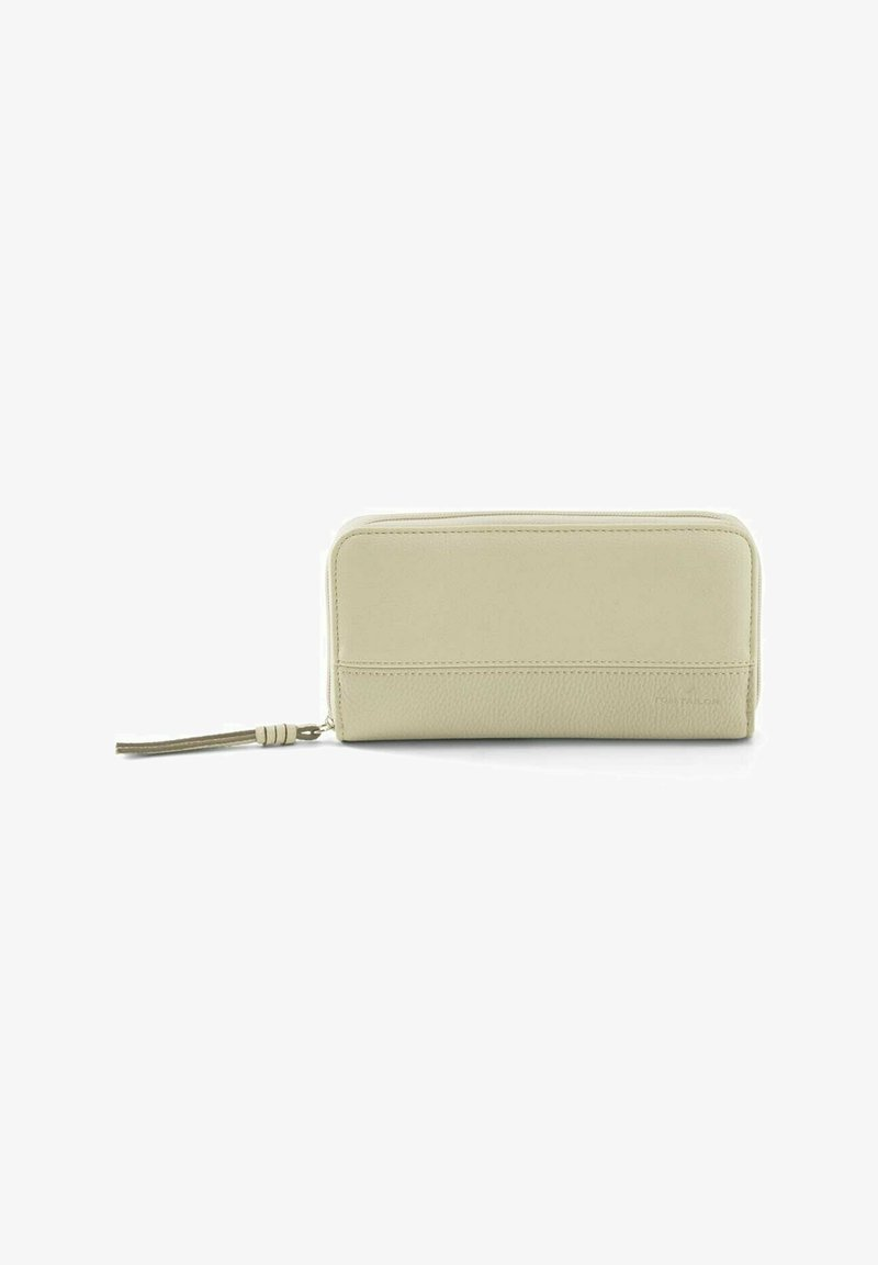 TOM TAILOR - Wallet - off white / off white
