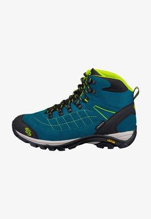 Hiking shoes - petrol/schwarz/lemon
