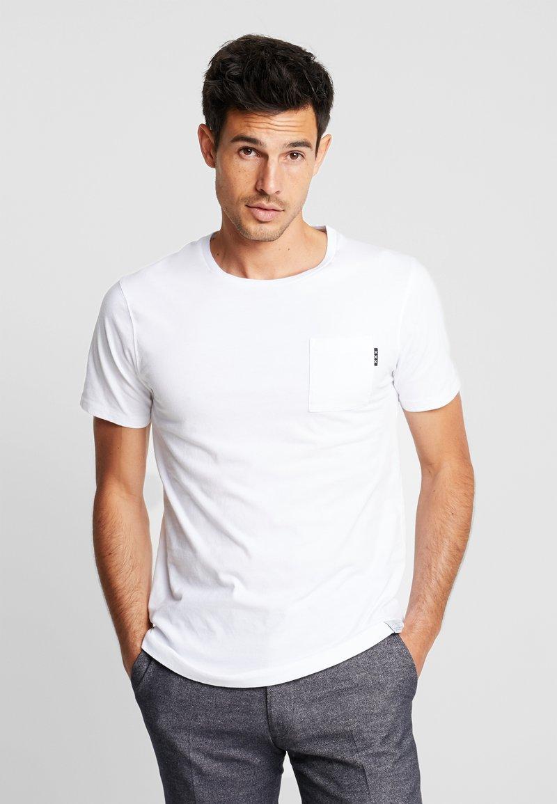 Scotch & Soda - POCKET TEE - T-shirt basic - white