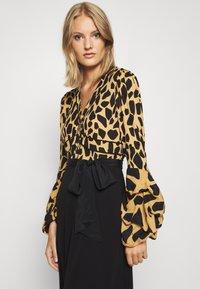 Diane von Furstenberg - NANCY DRESS - Cocktail dress / Party dress - large natural/black - 5