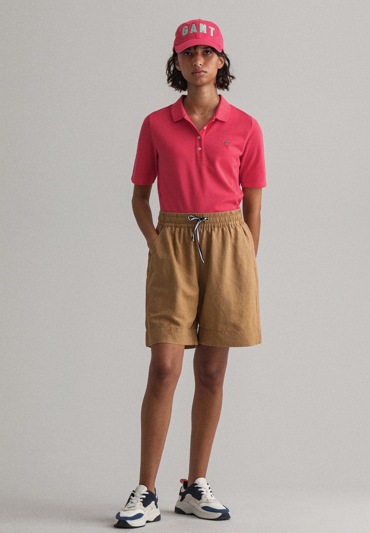 Damen Poloshirt - rot