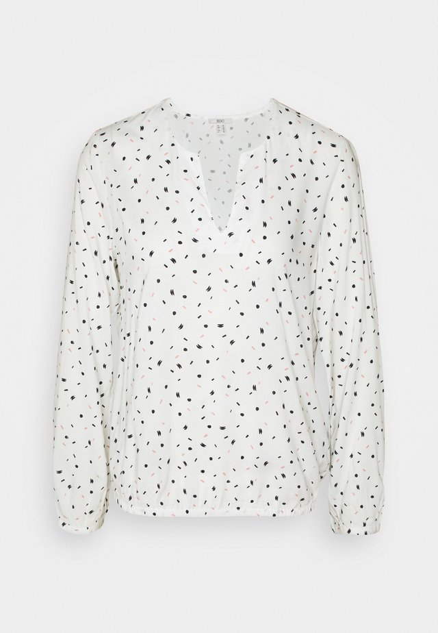 PRINT BLOUSE - Bluzka - off white