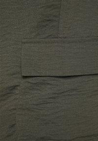 Zizzi - CAJOY LONG PANT - Trousers - black olive - 2