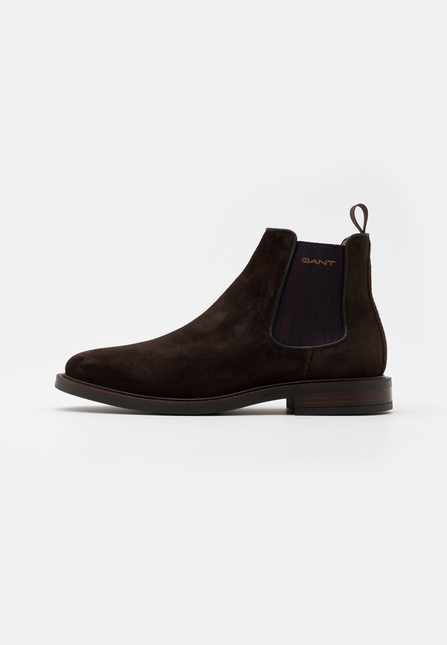 ST AKRON - Classic ankle boots - dark brown