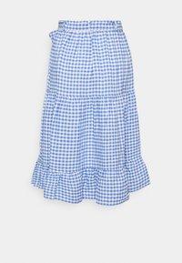 Polo Ralph Lauren - GINGHAM - A-line skirt - medium blue - 7