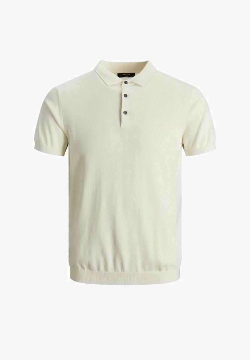 Jack & Jones PREMIUM - KLASSISCHES - Polo shirt - egret