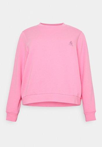 CHROMA CAPSULE CREW NECK - Sweatshirt - pink