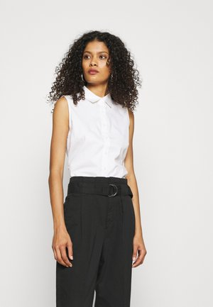 RILEY SOLID - Top - white