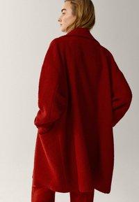 Massimo Dutti - Classic coat - red - 1