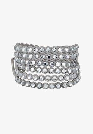 POWER BRACELET SLAKE - Pulsera - silver-coloured