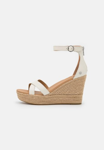 EZRAH - Platform sandals - jasmine