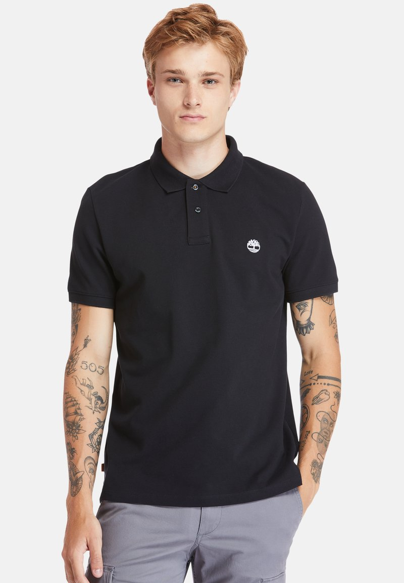 Timberland - MILLERS RIVER - Polo shirt - black