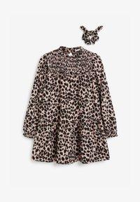 Next - SET - Robe d'été - black/light pink - 0
