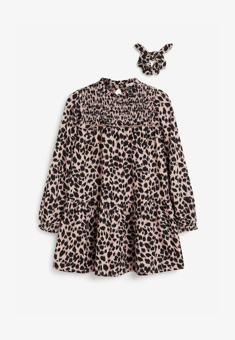 Next - SET - Robe d'été - black/light pink