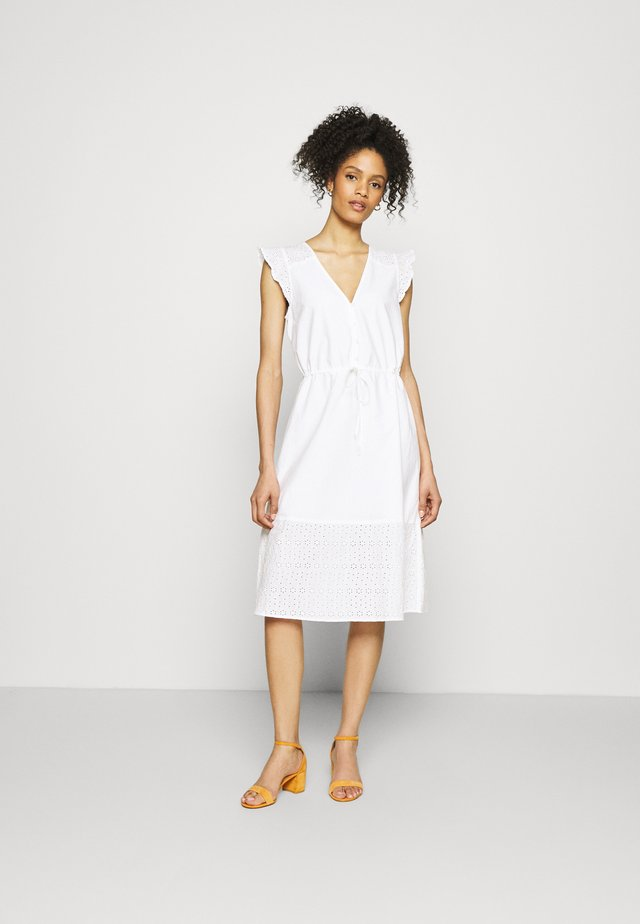 MIDI DRESS - Robe d'été - optic white