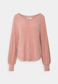 Hollister Co. - COZY EYELASH EASY - Pullover - pink - 0