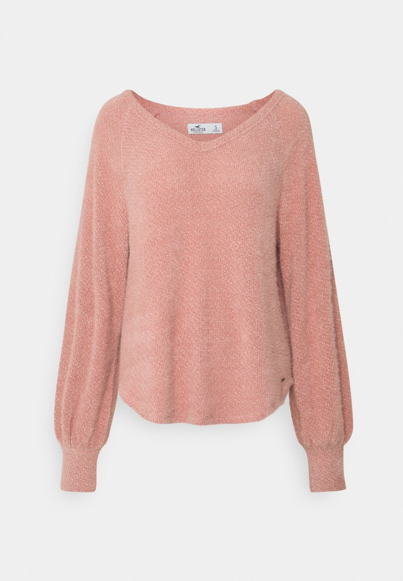 Hollister Co. - COZY EYELASH EASY - Pullover - pink