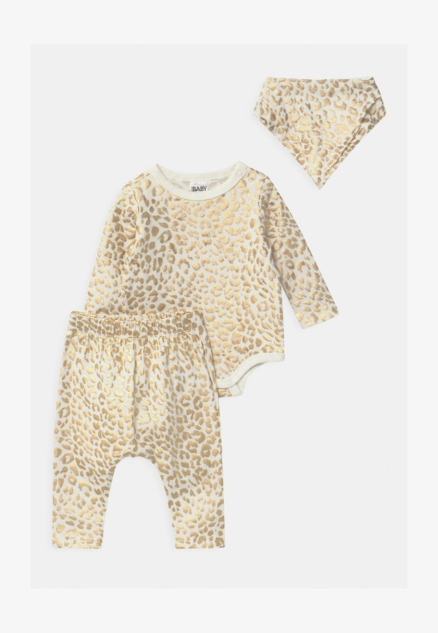 BUNDLE BIB SET - Leggings - Trousers - vanilla/summer ocelot