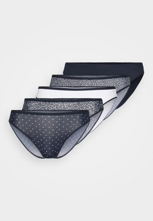 SCATTERED 5 PACK - Briefs - navy