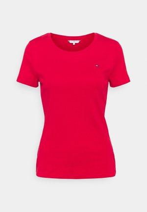 SLIM ROUND NECK - Basic T-shirt - primary red