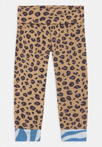 LUCIA LEOPARD UNISEX - Leggings - Trousers - multi-coloured