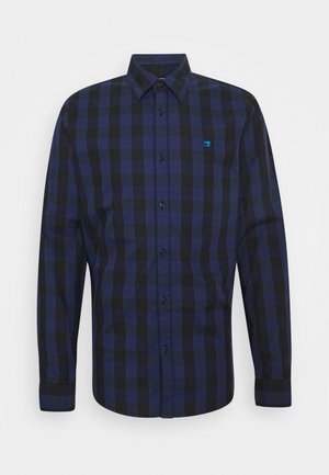 REGULAR FIT- CLASSIC CHECK  - Shirt - dark blue/black