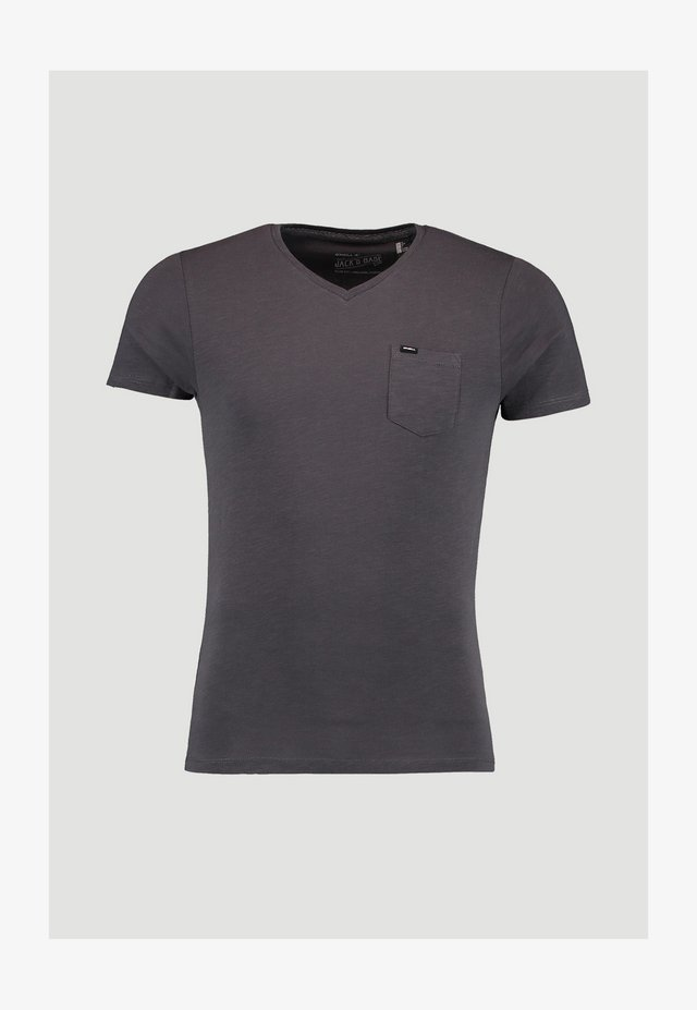 JACK'S BASE  - T-Shirt basic - asphalt