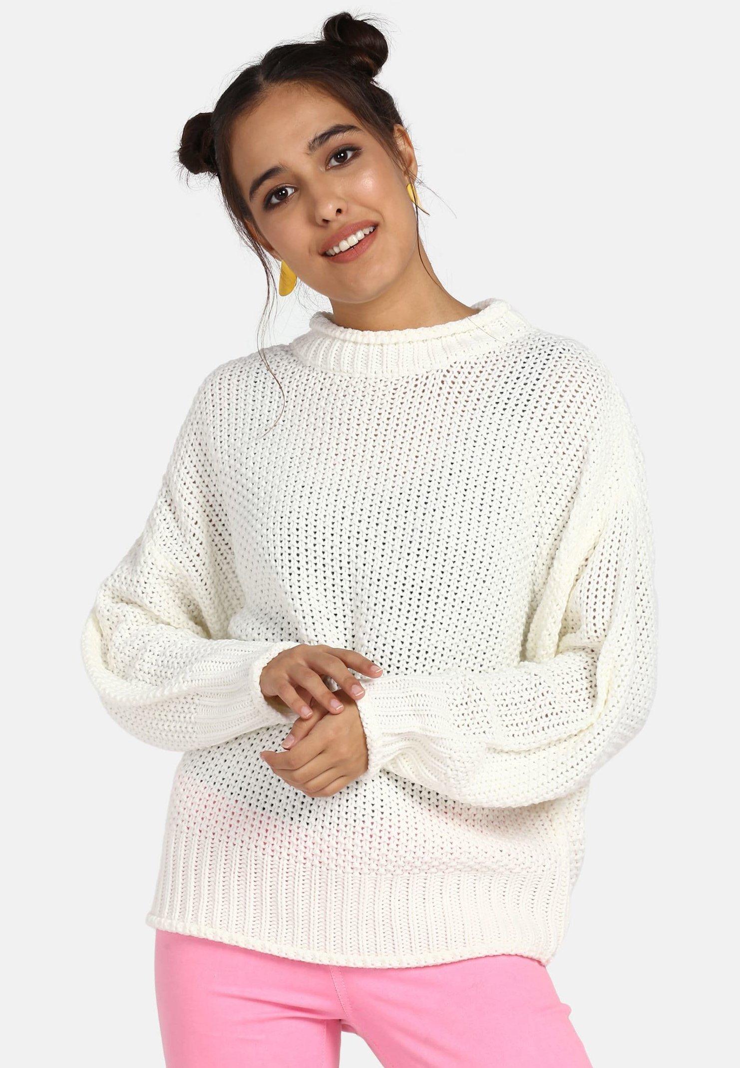 myMo Pullover - white - Pulls & Gilets Femme ezVZD