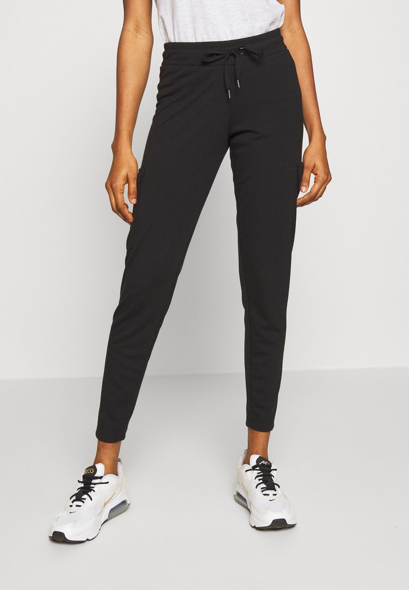 Noisy May - NMSEJLA CASUAL TROUSER - Trousers - black