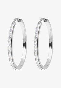 HOOPS CLASSIC - Örhänge - silver-coloured