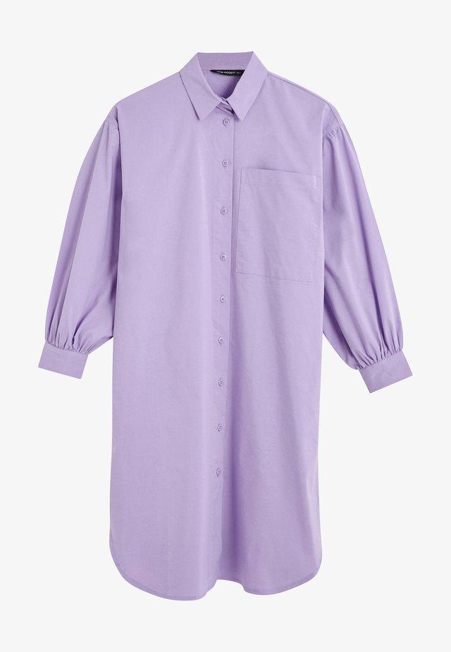 Overhemdblouse - lilac