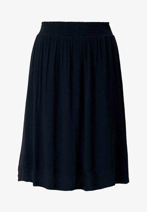 MIT ELASTISCHEM BUND - A-line skirt - sky captain blue