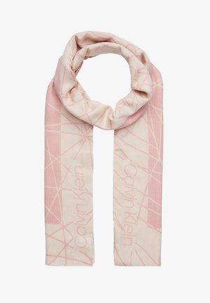 SCRIBBLE SCARF - Sjaal - beige