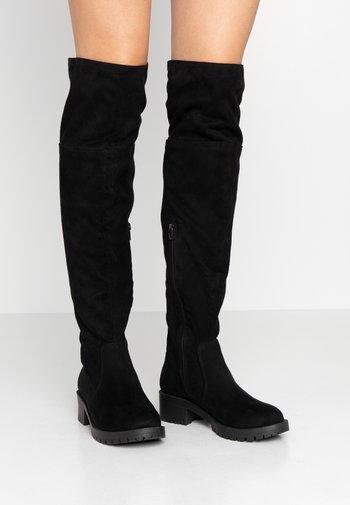 BIACLAIRE BOOT - Overknee laarzen - black