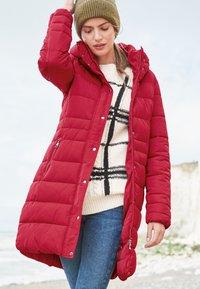 Next - Winter coat - red - 0