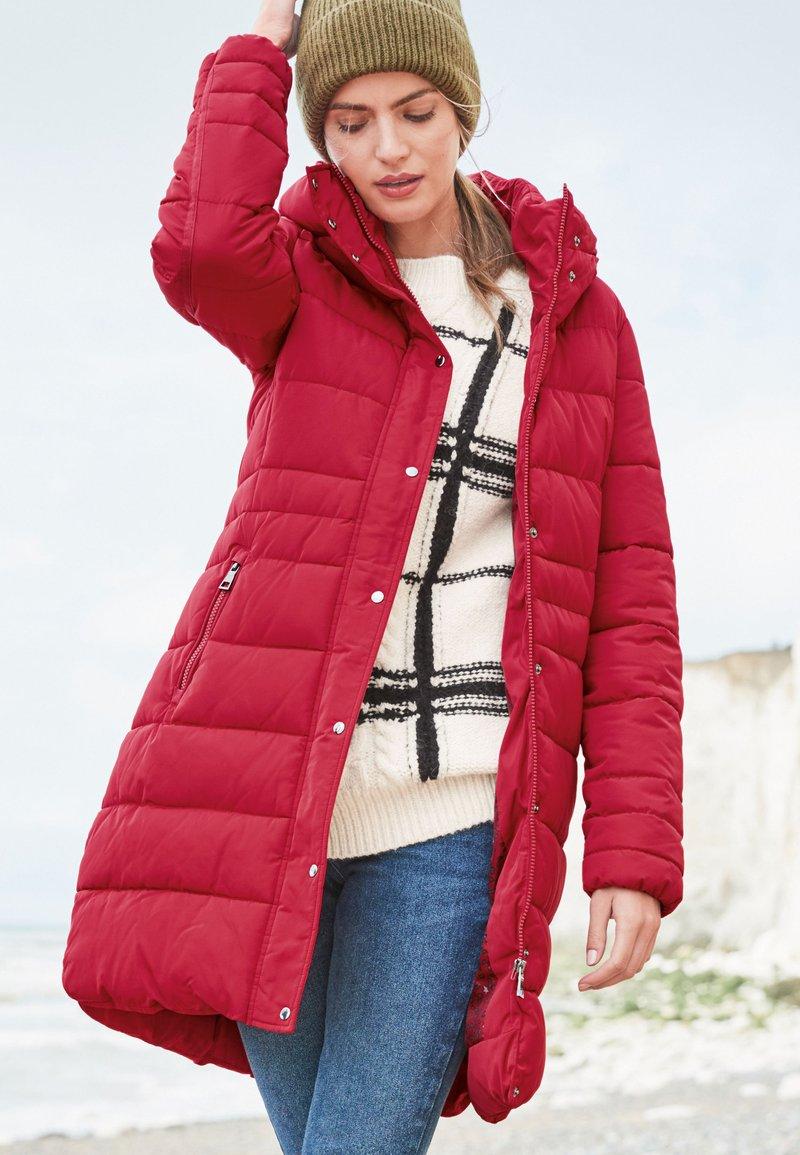 Next - Winter coat - red