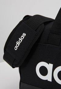 adidas Performance - LIN DUFFLE XS UNISEX - Sportstasker - black/white - 7