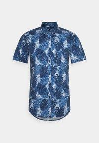 EACKER - Shirt - navy