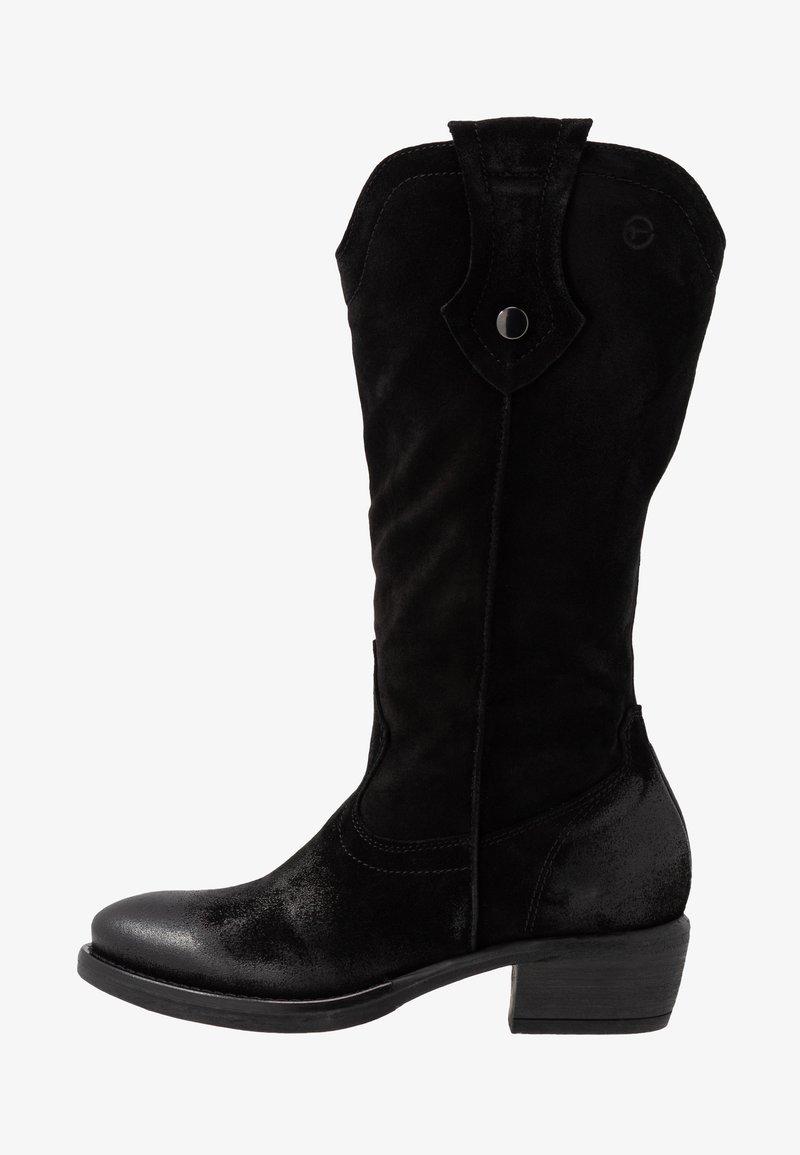 Tamaris - BOOTS - Cowboystøvler - black