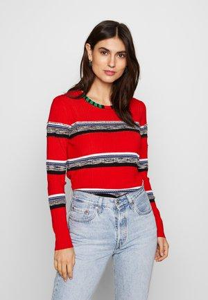 CALCUTA - Sweter - rojo roja