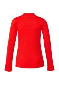 WE Fashion - T-shirt à manches longues - red - 1