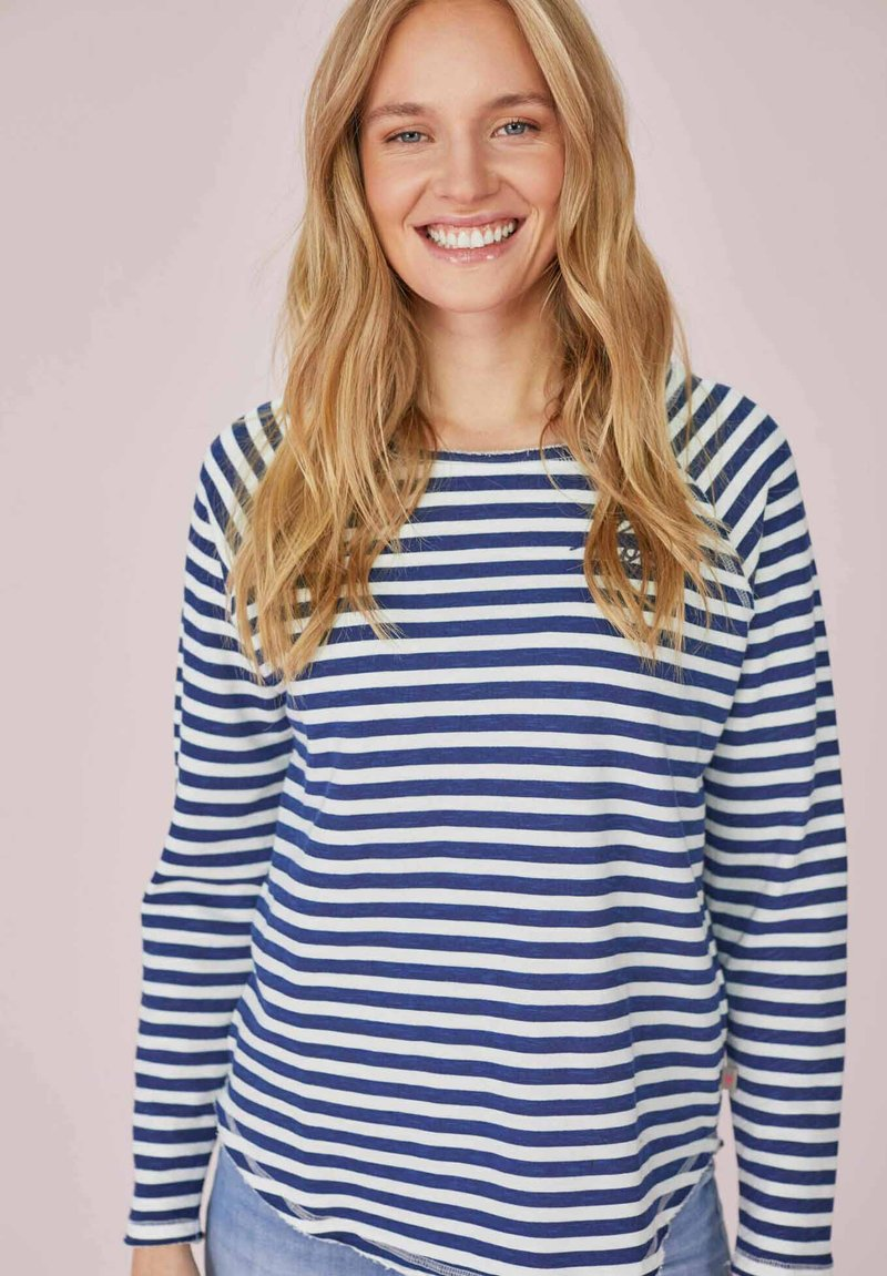 Lieblingsstück - CATHRINAEP - Long sleeved top - bleu